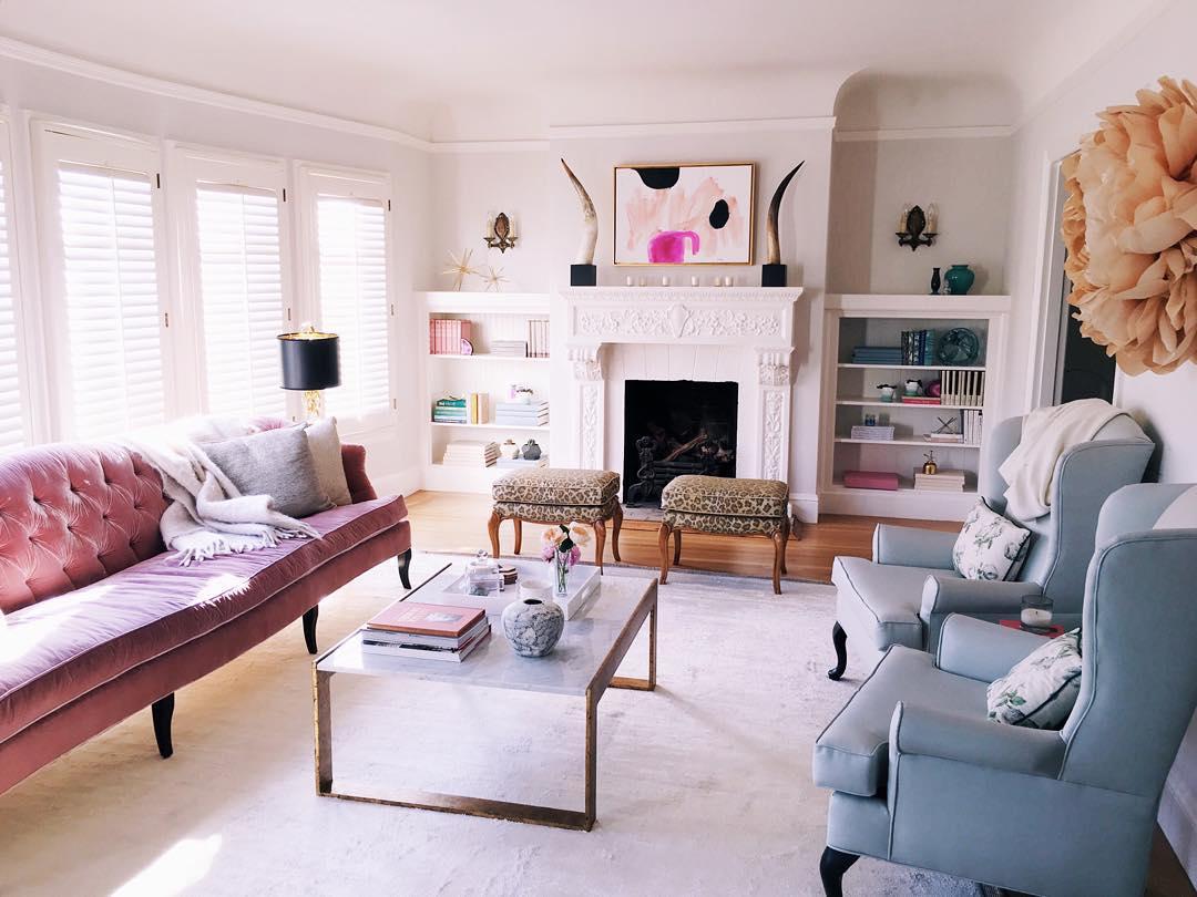 -Decorative fireplace-
